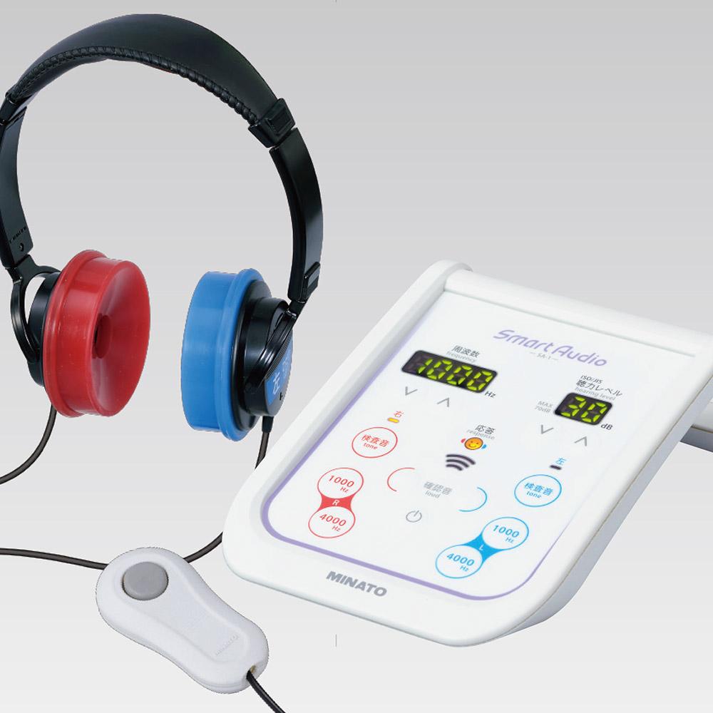 オージオメーター(聴力測定器)